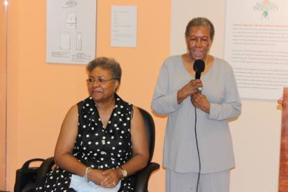 Dr. Jacqueline Brown and Mayor Lillian Beverly